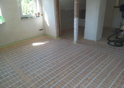 elektrische Fußbodenheizung