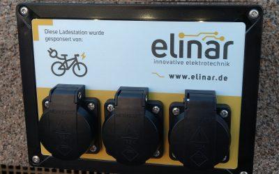 noch 8 Sponsoring-E-Bike-Ladestationen zu vergeben