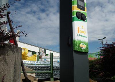 Globus E-Tankstelle